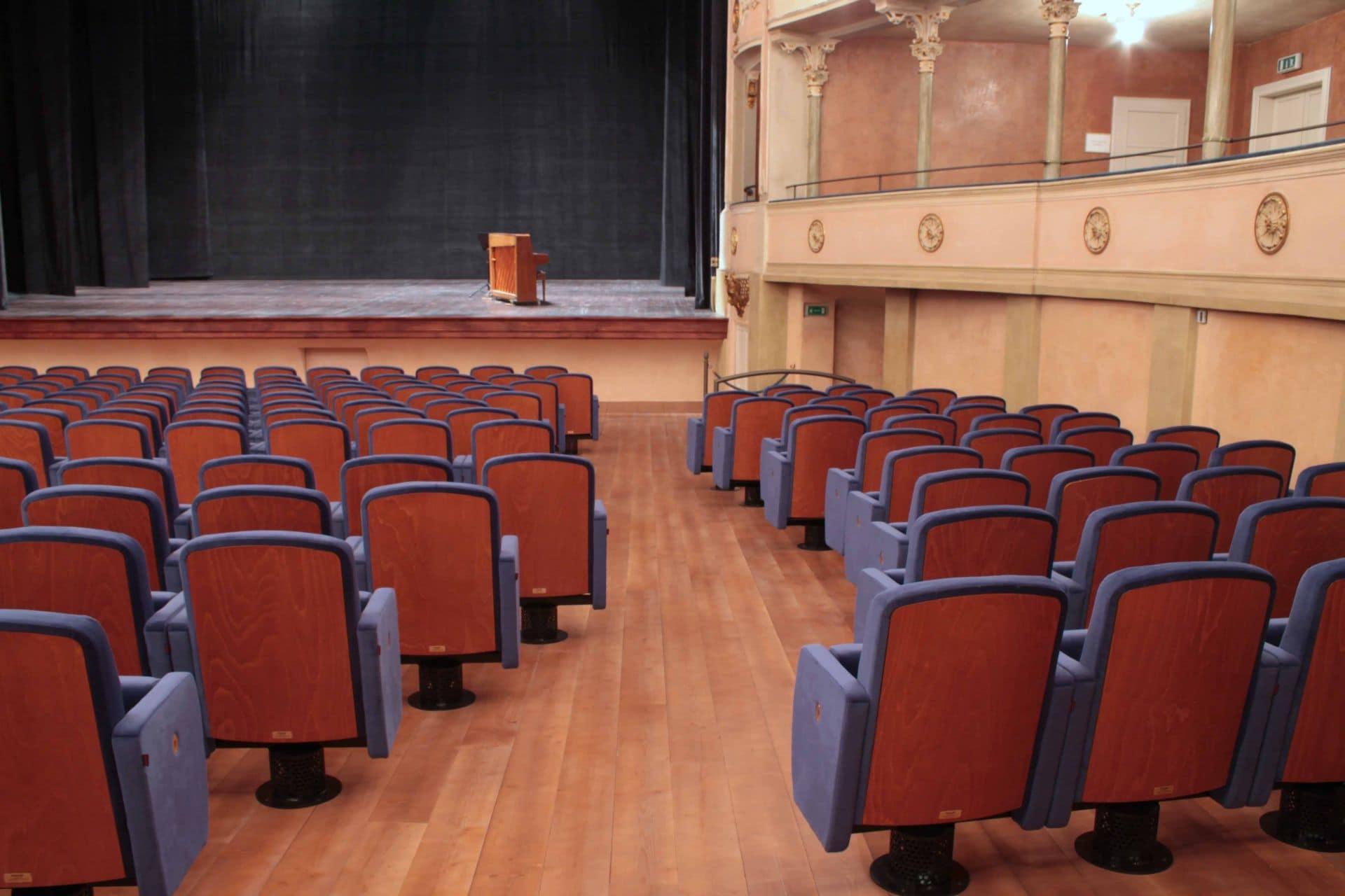 Poltrone Lugano nel Teatro Ariosto